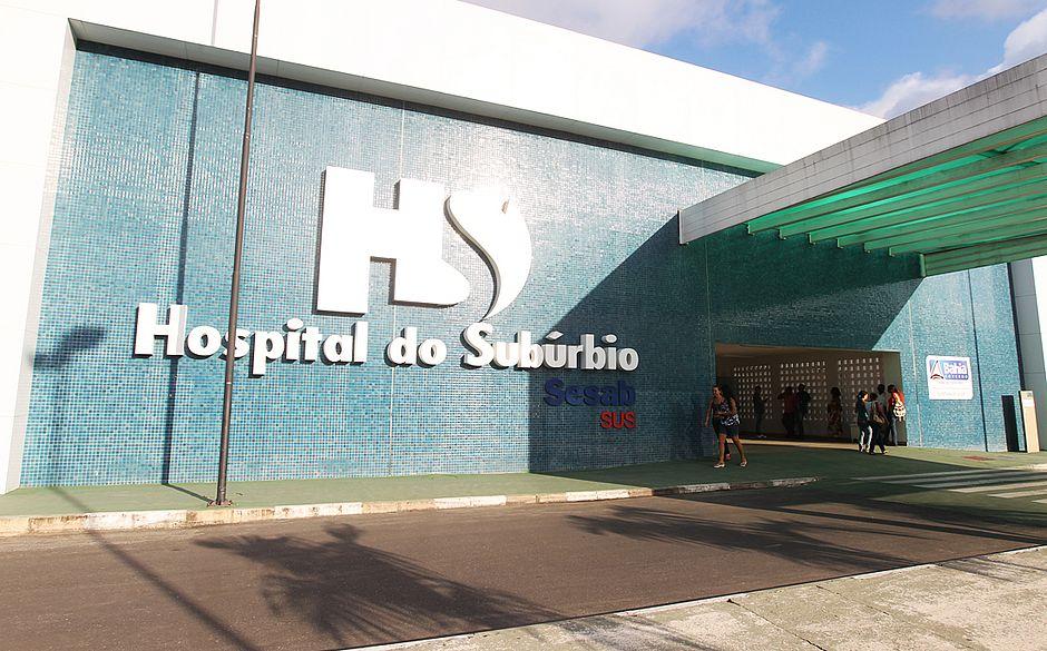 Hospital do Subúrbio é um dos locais que vão receber o túnel de desinfecção