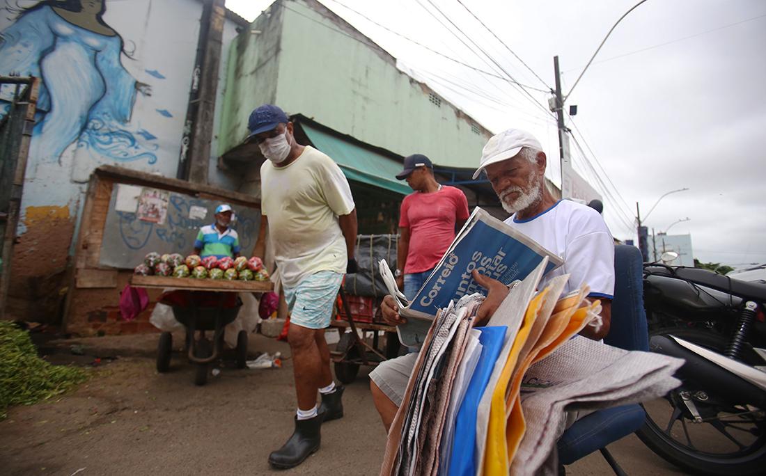 Feira de São Joaquim, Março de 2020.
