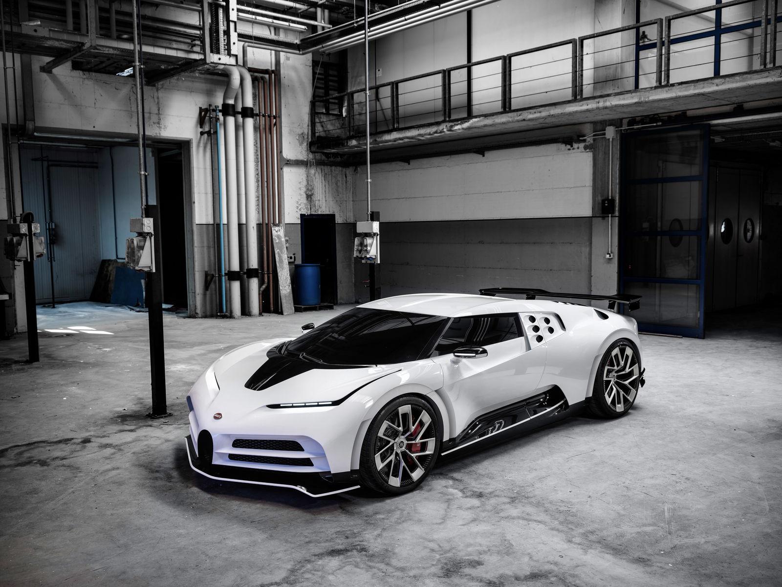 O Bugatti Centodieci terá apenas dez unidades produzidas e uma delas será de Cristiano Ronaldo