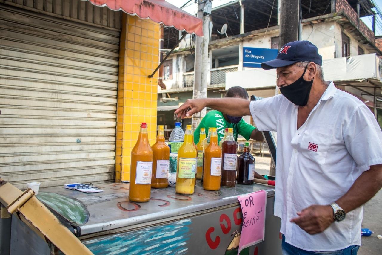 Procura por licor foi grande no bairro do Uruguai, em Salvador, no feriado dessa segunda