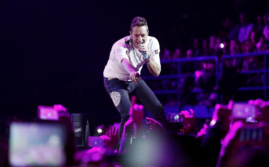 A banda Coldplay é uma das atrações do Global Goal: Unite For our Future – The Concert