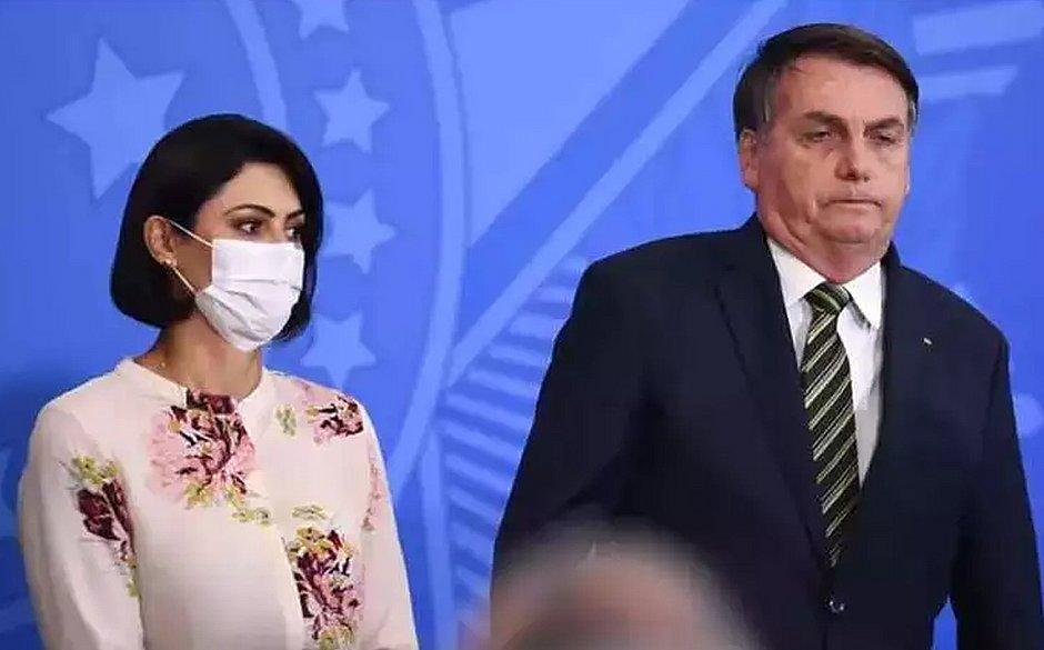 Primeira-dama Michelle Bolsonaro testa positivo para covid-19 – Jornal Correio