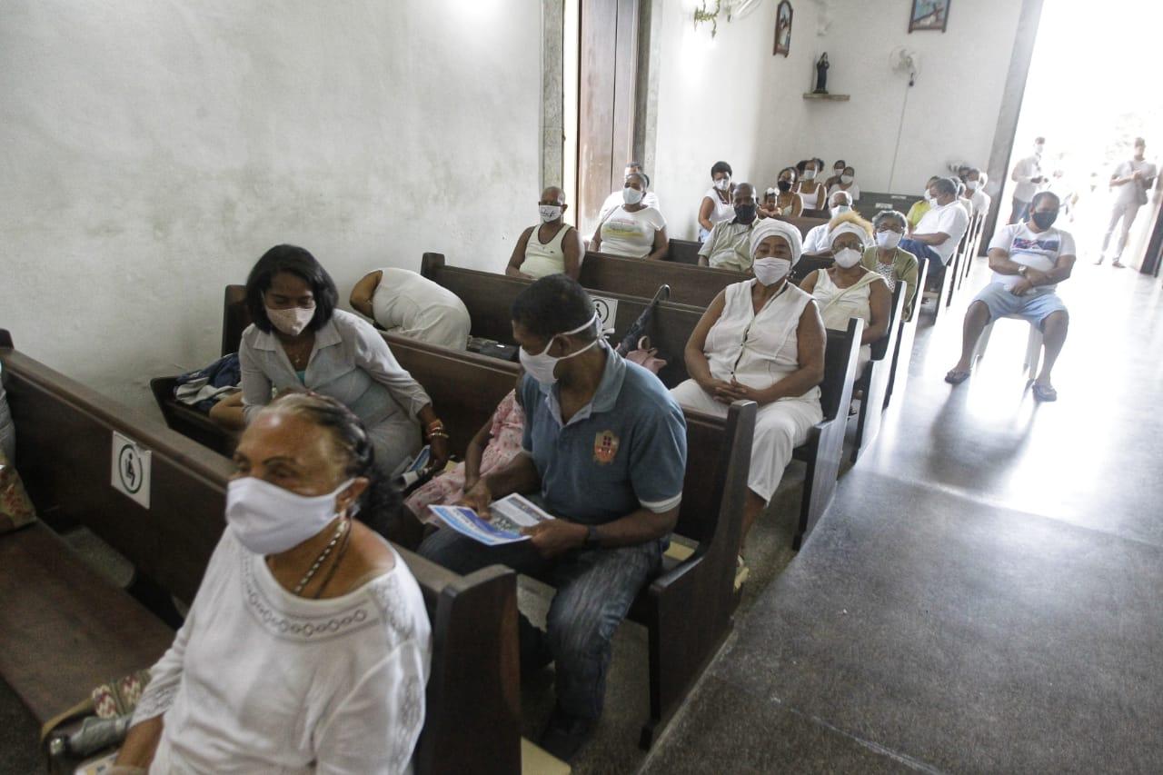 'Novo normal' obriga Igreja de São Lázaro e São Roque receber até 50 pessoas no máximo