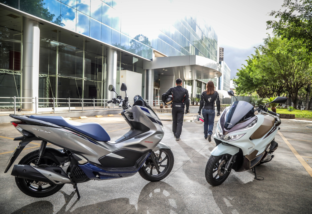 A Honda PCX teve 1.125 unidades emplacadas neste ano na Bahia