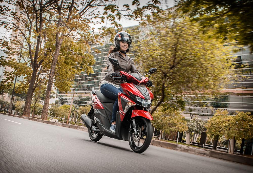 Na quarta colocação vem outra Yamaha, a Neo 125, com 292 exemplares licenciados