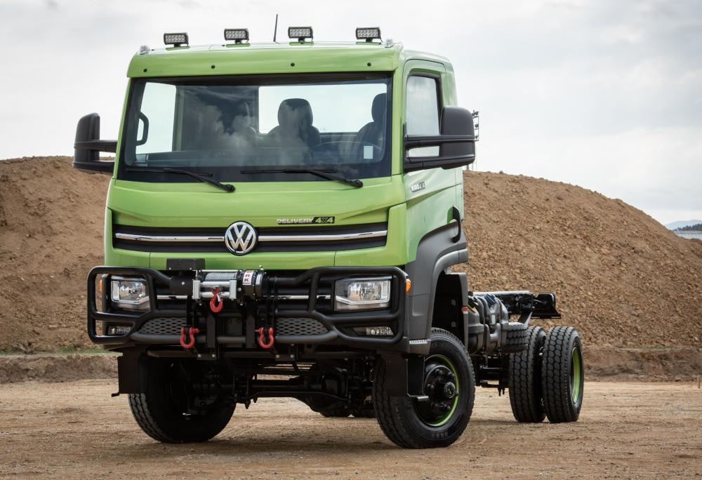 A versão 4x4 do Delivery tem 19,6 centímetros de vão livre do solo