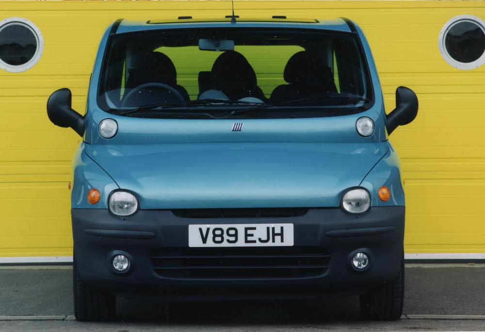 O Multipla é um dos modelos mais exóticos já produzidos pela Fiat