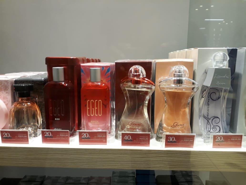 Shopping Center Lapa: O Boticário - perfume Glamour, de R$ 139,90 por R$ 97,90 (30% de desconto)