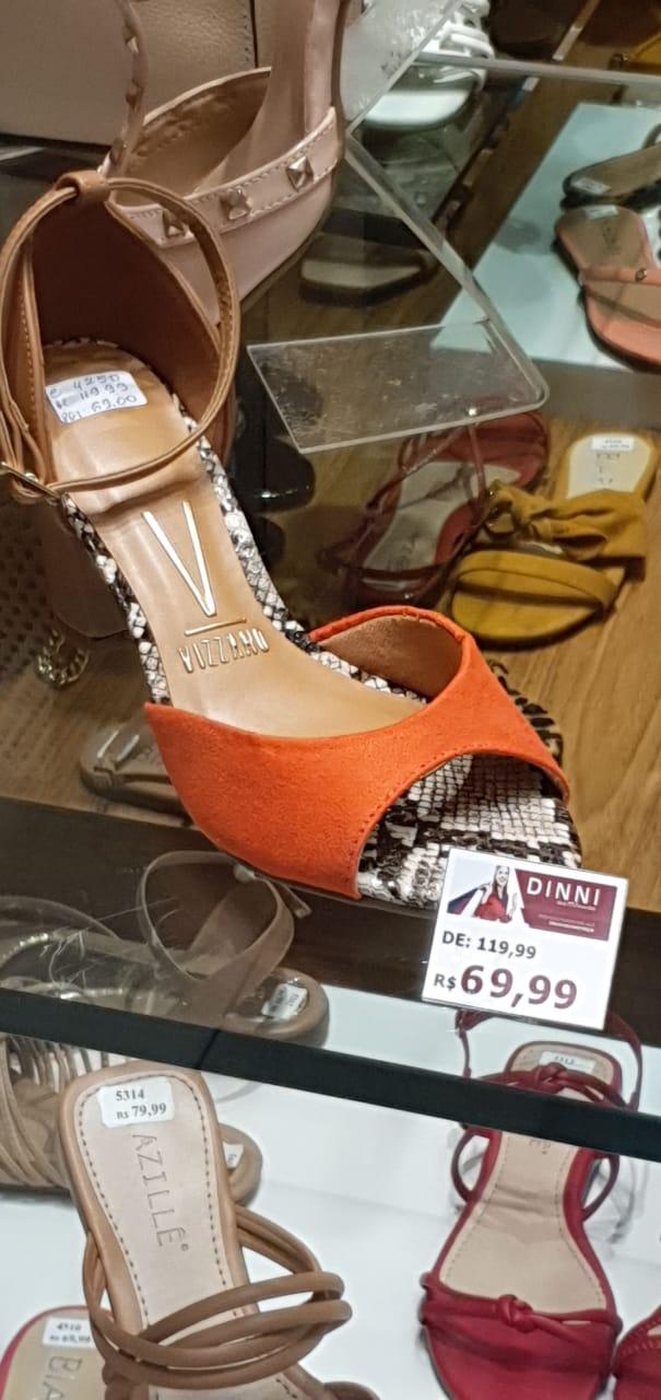 Shopping Paralela: Dinni - Sandália de Salto Vizzano, de R$ 119,99 por R$ 69,99 (41,6% de desconto)