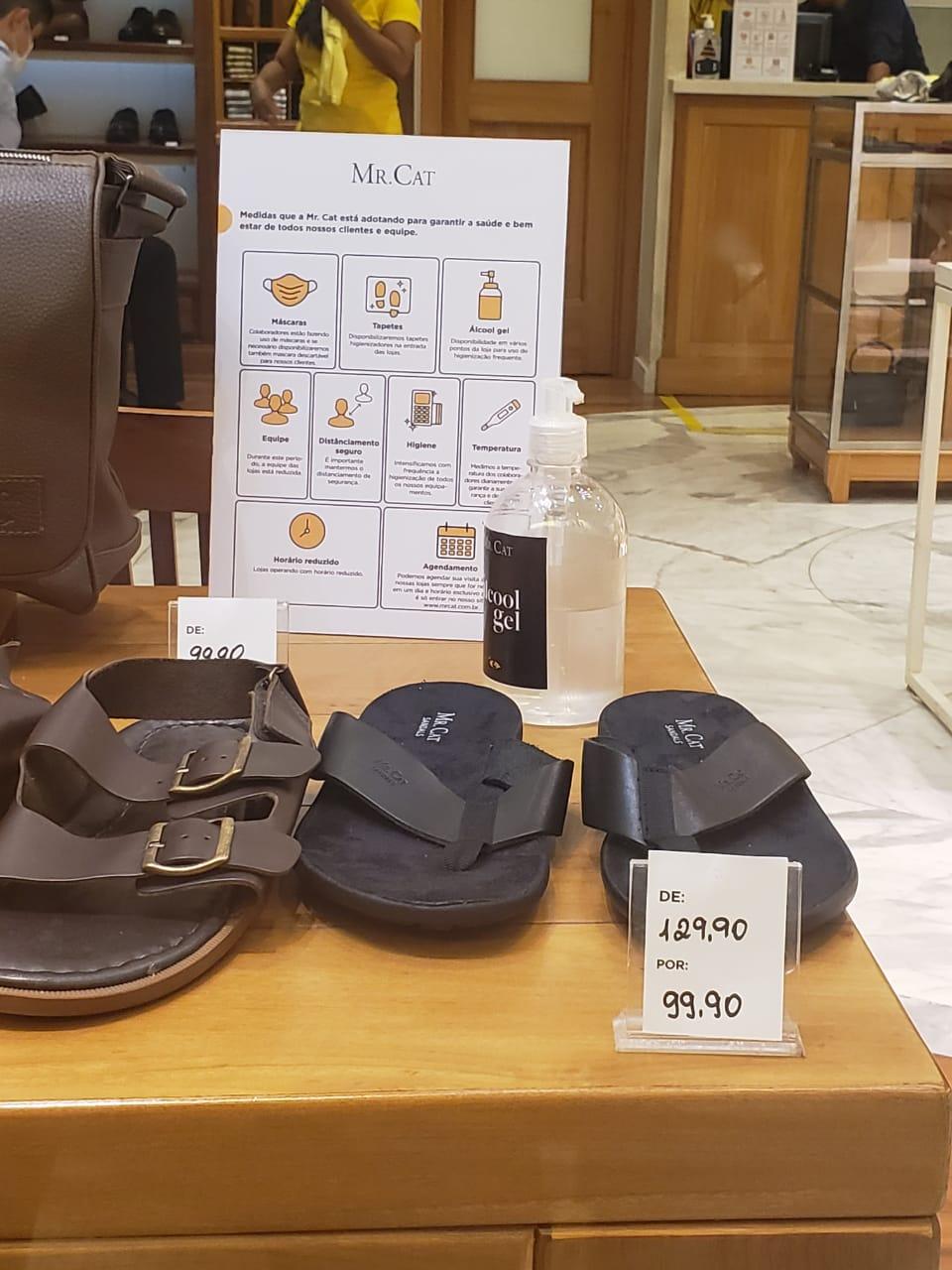 Shopping da Bahia: Mr Cat - sandália, de R$ 129,90 por R$ 99,90 (23% de desconto)