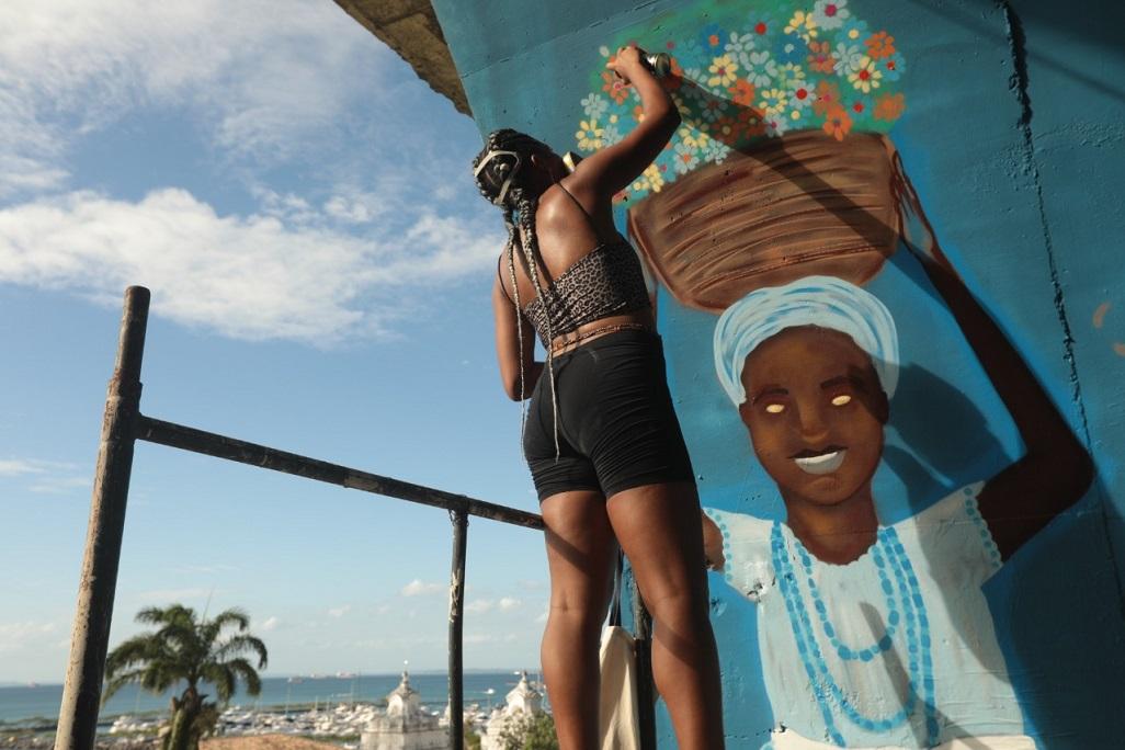 Salvador e a comunidade do entorno do Solar do Unhão  foram escolhidas para receber o  Festival de Street Art da Bahia (FESTA)
