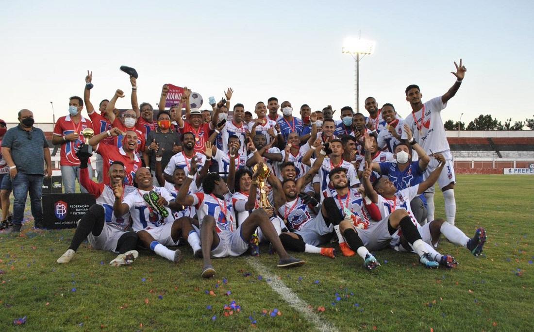 Campeão da segunda divisão do Baianão em 2020, Unirb é o estreante na elite do estadual