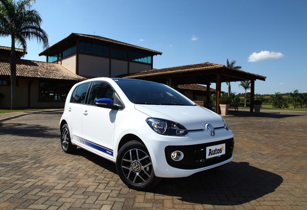 A Volkswagen encerrou este ano a produção do up! no Brasil