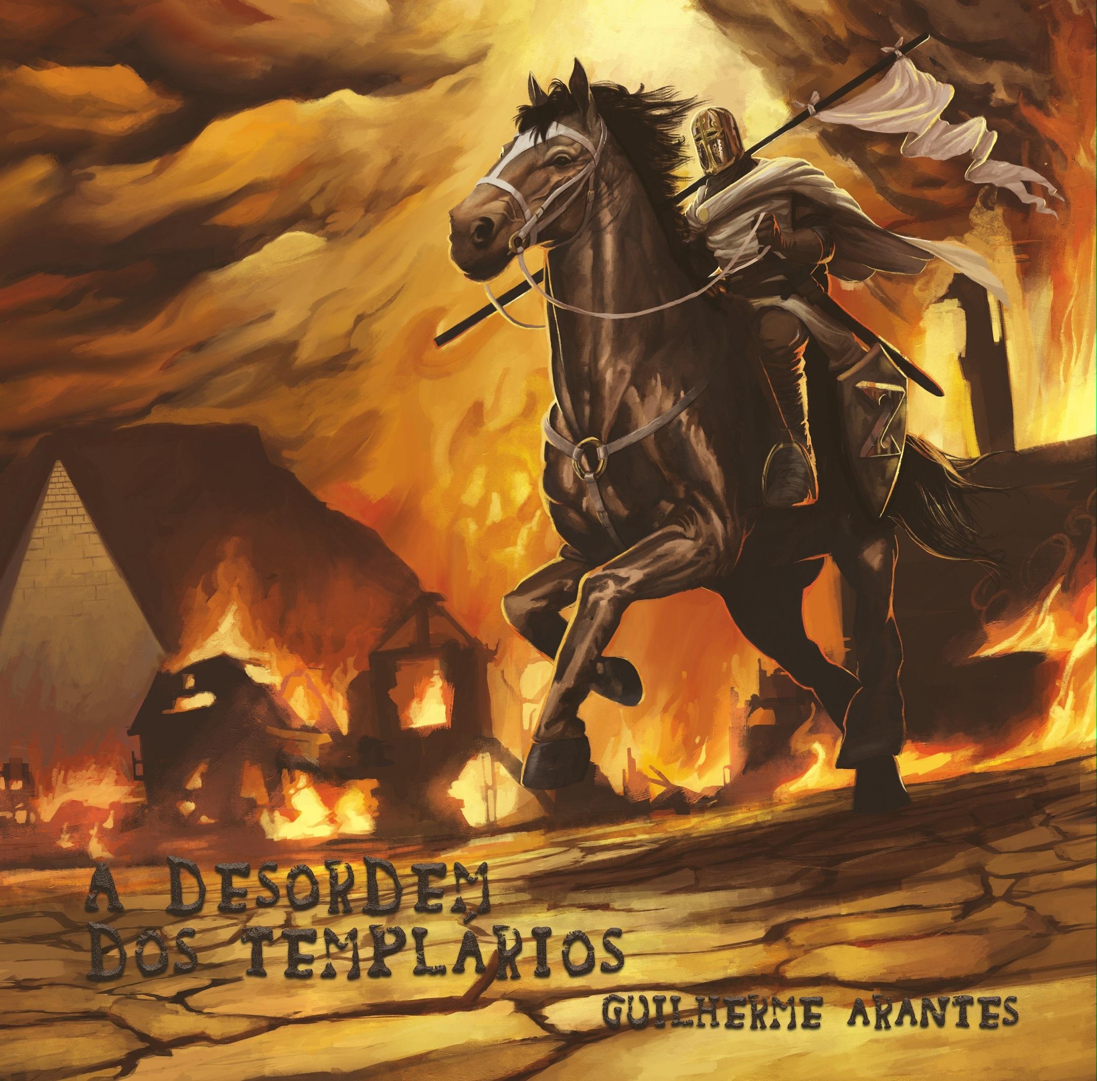 Capa do álbum A Desordem dos Templários