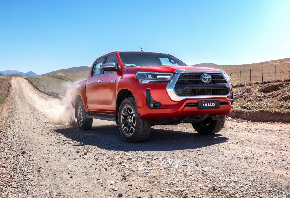 A Toyota Hilux ficou com quarta posição no ano passado no estado