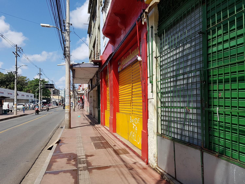 Lojas da Barroquinha fecharam durante protesto no final da manhã